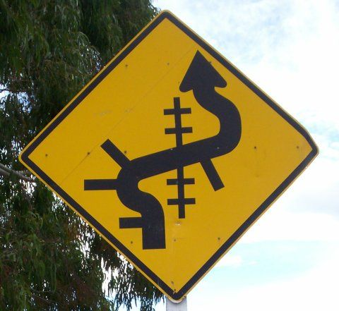 actual New Zealand Road Sign - huh?