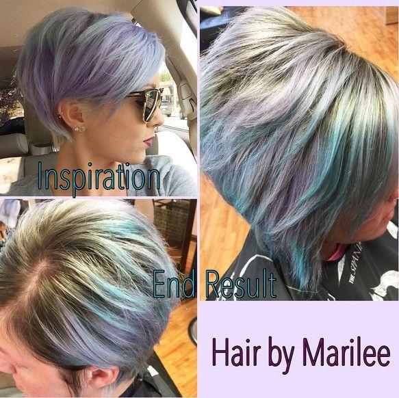 22 Mejores Peinados para pelo grueso //  #contemporáneos #Elegante #Estilos #FrizzFree #grueso #mejores #para #Peinados #pelo