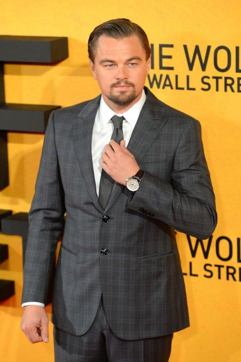 Leonardo Dicaprio At The Wolf Of Wall Street Premiere
