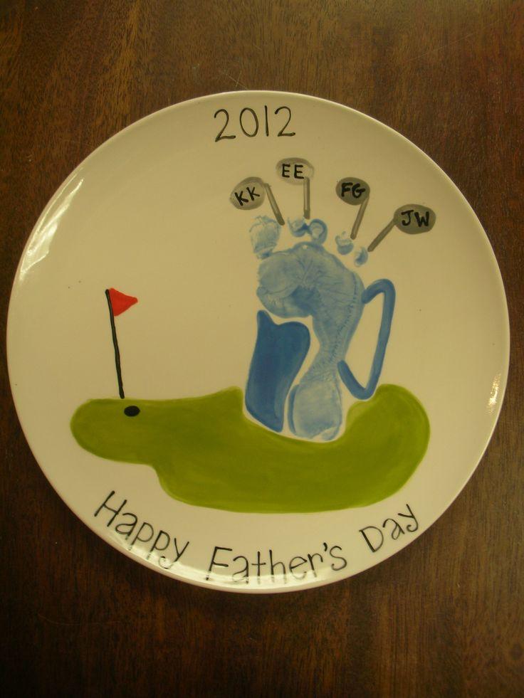 Footprint golf bag. Have a Par-fect Father's Day!