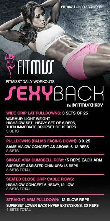 Sexy Back Workout by iamfitmiss