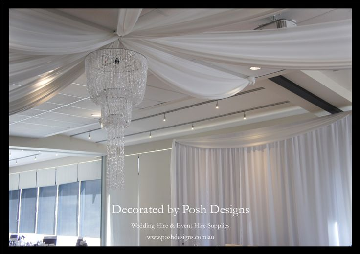 #weddingdraping #ceilingdraping #hangingchandelier #theming available at #poshdesignsweddings - #sydneyweddings #southcoastweddings #wollongongweddings #canberraweddings #southernhighlandsweddings #campbelltownweddings #penrithweddings #bathurstweddings #illawarraweddings  All stock owned by Posh Designs Wedding & Event Supplies – lisa@poshdesigns.com.au or visit www.poshdesigns.com.au or www.facebook.com/.poshdesigns.com.au #Wedding #reception #decorations #Outdoor #ceremony decorations