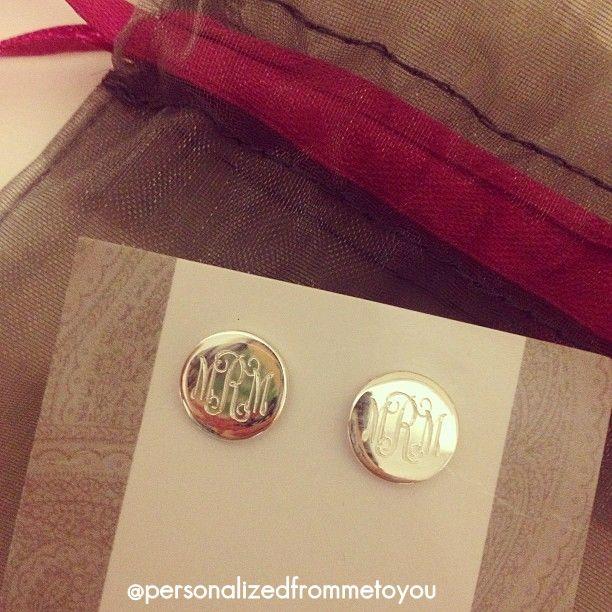 Monogram Earrings: My full name: Danica Renee Lempert ;-)