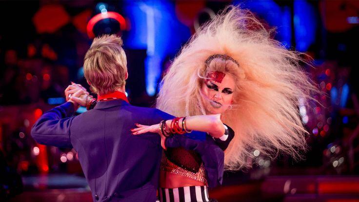 Pixie Lott & Trent Whiddon Tango to 'Danger! High Voltage' 2014