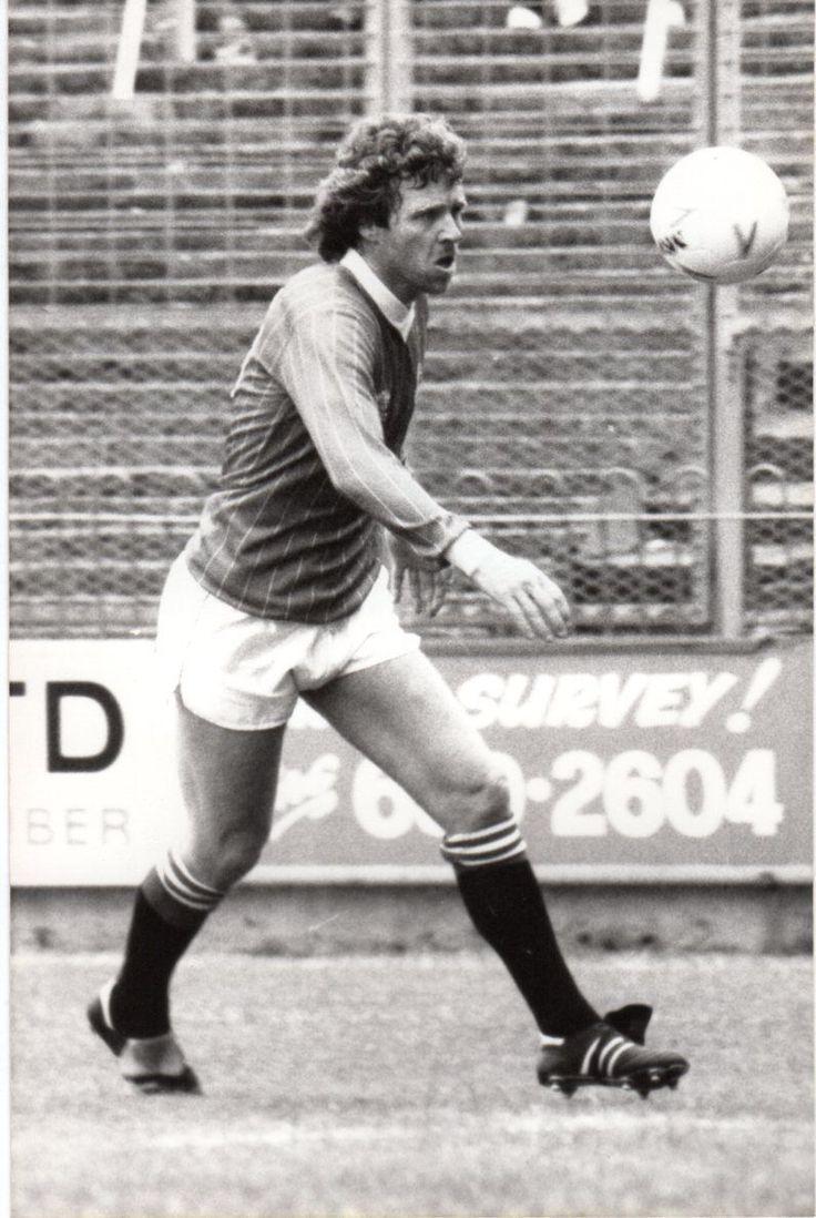 Mike Flanagan of Charlton Athletic in 1984. Charlton