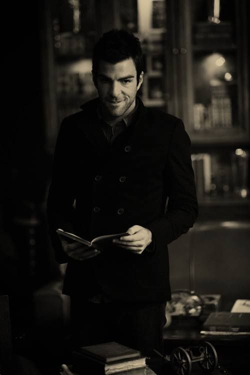 "Zachary Quinto as Sylar in ""Heroes"" one of my favorite progressions of a normal guy into a villain."