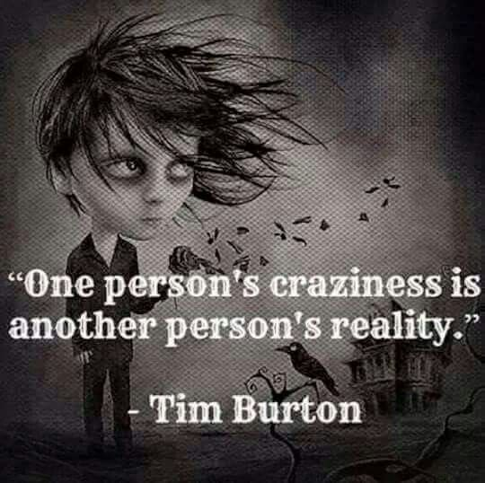Because I like Tim Burton, I have since I was little.