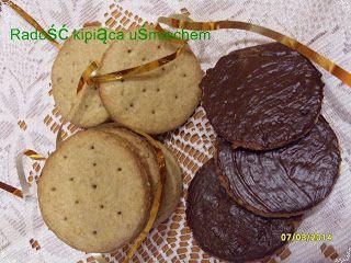 RADOŚĆ KIPIĄCA UŚMIECHEM.: Ciasteczka pełnoziarniste.