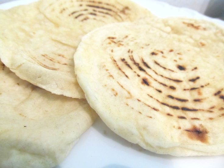 Naan is Indian bread and is a favourite food. This one is made without tandoor or oven