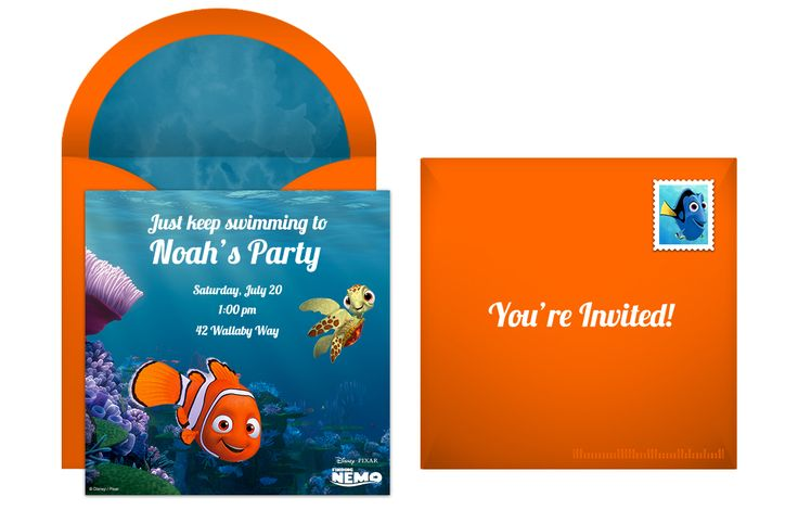 Plan a Totally Righteous Finding Nemo Birthday Party from Punchbowl