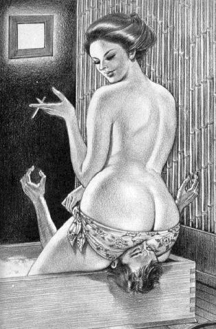 smothering erotic