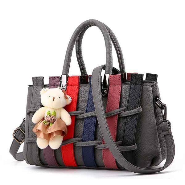 Fanspack Vintage Satchel Handbags PU Leather Crossbody Messenger Shoulder Bag Purse for Women