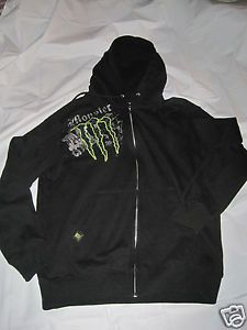 MONSTER ENERGY JACKET MADE EXCLUSIVELY FOR THE MONSTER BEVERAGE CO