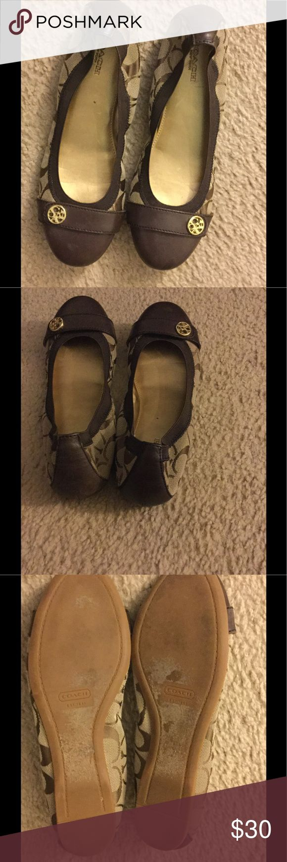 Coach ladies shoes Brown loafers Coach Shoes Flats & Loafers