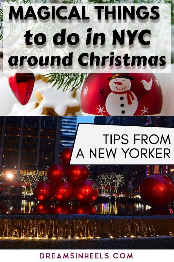 Things To Do In Nyc On Christmas Day 2020 Best Christmas Markets in New York City 2020 by a New Yorker | New