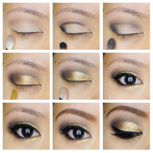 A Collection of 30 Best Glitter Makeup Tutorials and Ideas for 2014 | Pretty Designs