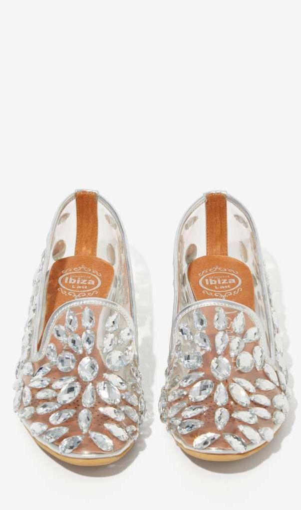 Elegant Jeweled Loafers