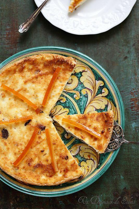 Un dejeuner de soleil: Gâteau sicilien à la ricotta (sans gluten)