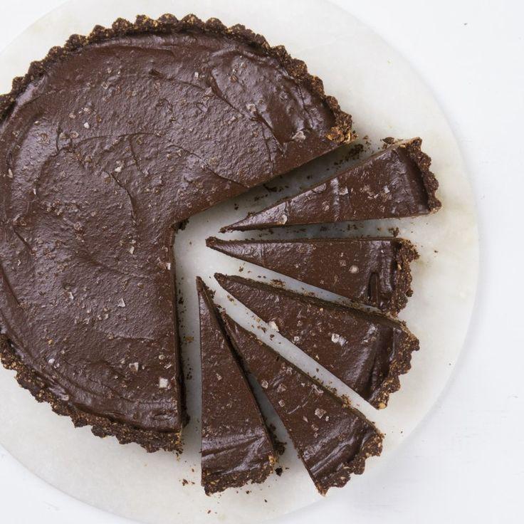 Vegan Chocolate Tart - Madeleine Shaw