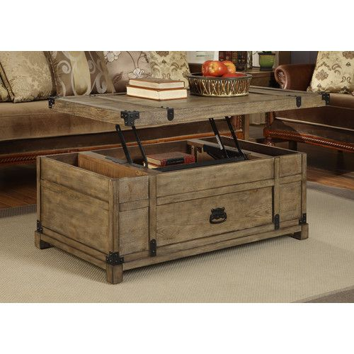 Features: -Lift top. -1 Drawer. -Distressed finish. Distressed: · Wood Coffee  TablesLift ... - 25+ Best Ideas About Lift Top Coffee Table On Pinterest Used