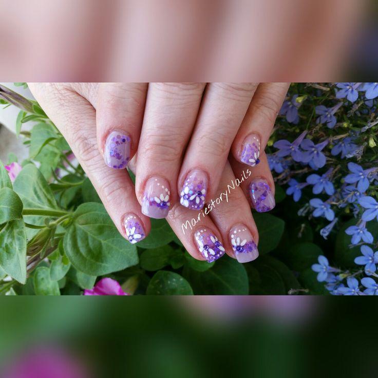 #summernails #naildesign #glitternails