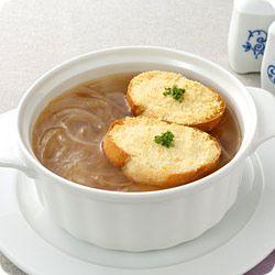 新玉ねぎの煮込みスープ (レシピNo.1936)