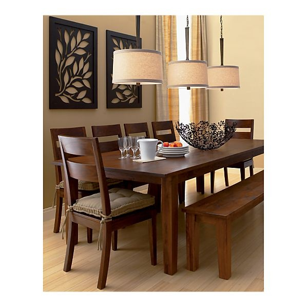 Exceptional Possible New Dining Set    Love The Bench. Basque Honey Dining Set At Crate