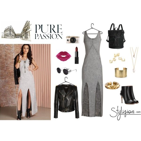 Pure Passion by styligion on Polyvore featuring Mode, Finders Keepers, Balmain, Givenchy, With Love From CA, Blue Nile, Bottega Veneta, Jeweliq, NARS Cosmetics and Urban Outfitters