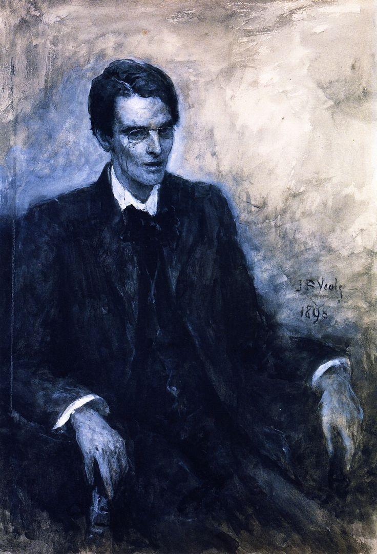 Study of W.B. Yeats by Jack Yeats