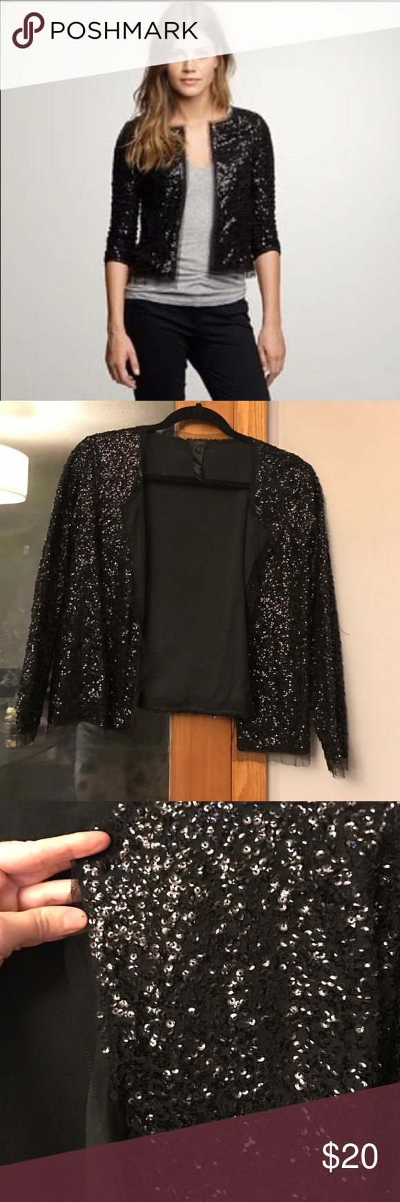 J Crew Sequin Cardigan Great condition!  NO TRADES J. Crew Sweaters Cardigans