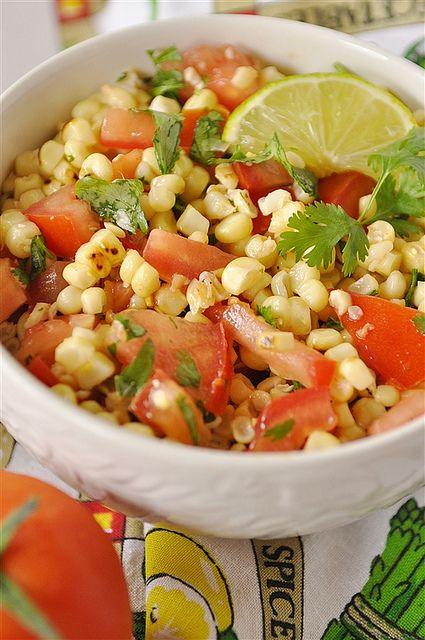 Roasted Corn Saslad by yourhomebasedmom, via Flickr
