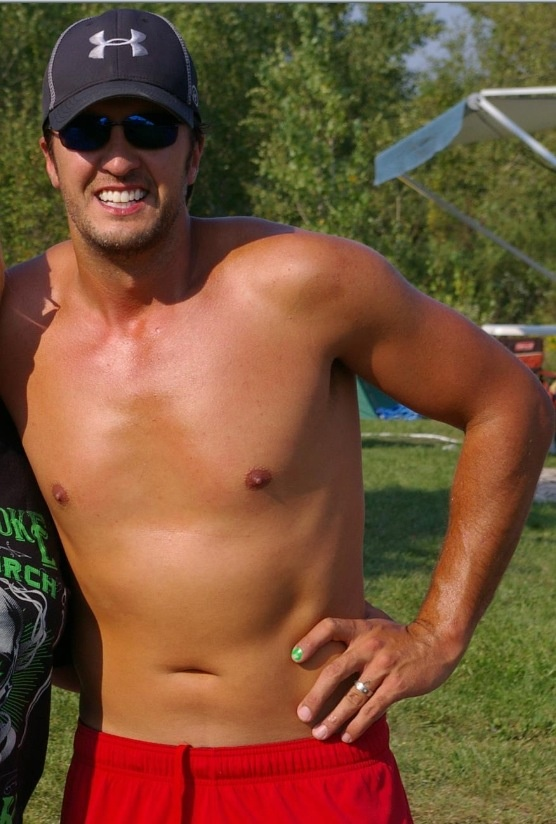 Luke Bryan. Is it getting hot in here or is it just me?