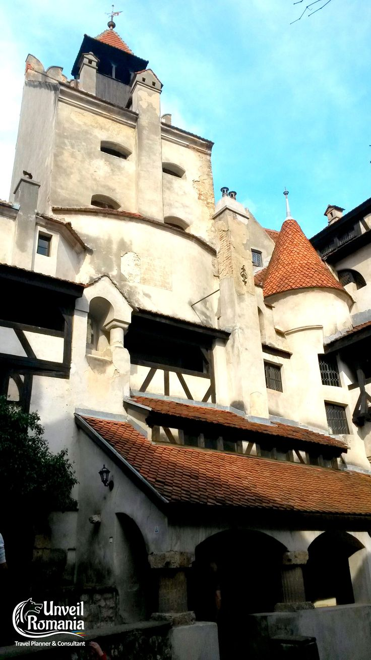 One of Bran's main towers (view from the inner courtyard) #DraculaCastle #Bran #Transylvania #Dracula #Romania