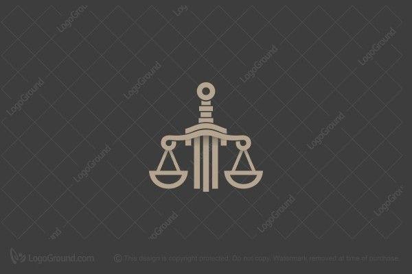 Logo for sale: Sword & Scales Logo