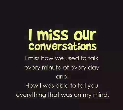 yaa... saya cuma rindu bicara dan tertawa dengan anda. simple emang tapi itulah yang membuat saya menunggu anda!!! :|