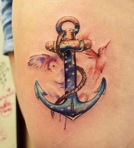 awesome Watercolor tattoo - Este trabalho de aquarela...