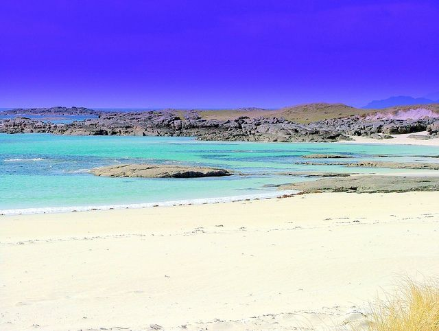 Arisaig Beach, Scotland, it's out of this world, a must visit.