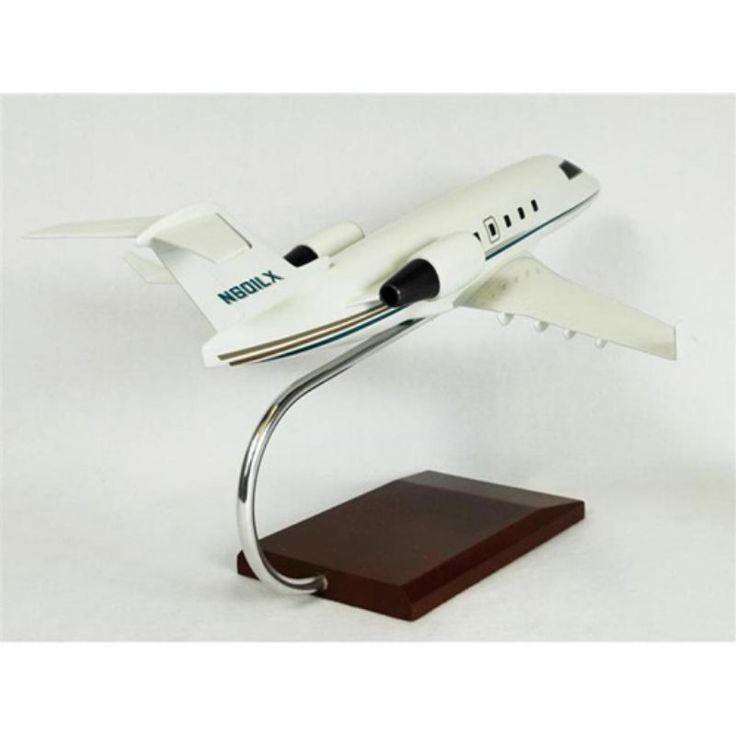 Daron Worldwide Bombardier Aerospace Challenger 601 Model Airplane - KC601TR