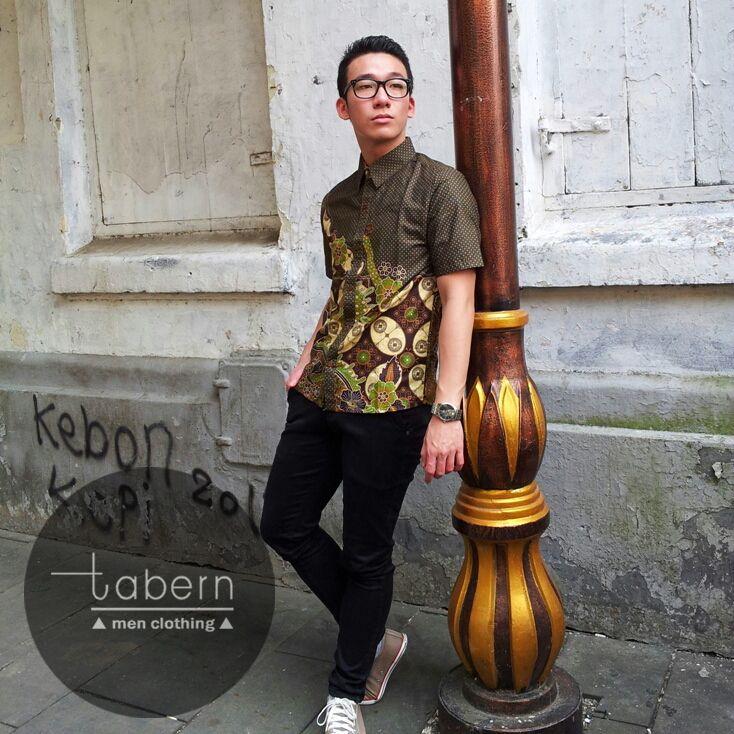 Type: Matt Size: M, L, XL #batik #slim #men #pria #casual #baju #outfit #kemeja…