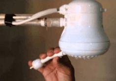 Truque mágico para desentupir os buraquinhos do chuveiro - Receitas e Dicas
