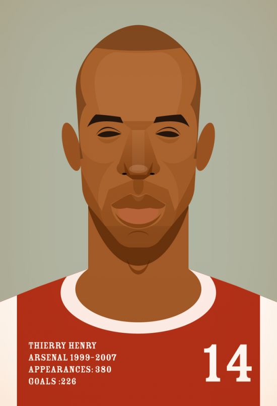 Thierry henry illustration essay