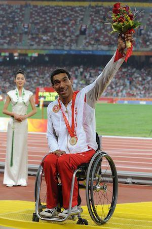 Bergeron, Dean - Athlétisme en fauteuil roulant - Exploraré - Gagnant de 11 médailles aux Jeux paralympiques.