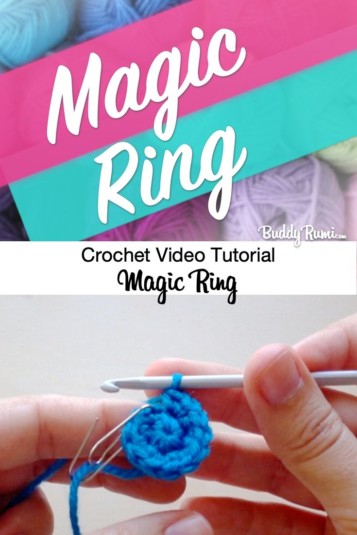 Crocheted Magic Ring [A How To Tutorial] | 1102x735