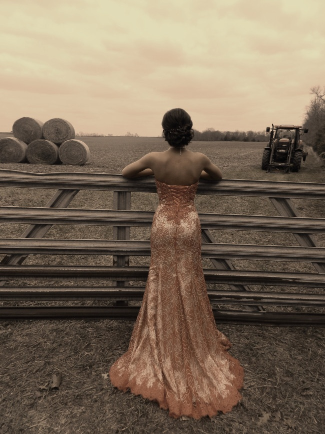 Prom photo #country #farm #gal