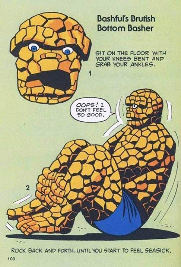 Marvel exercises #marvel #exercises #retro #comics #vintage