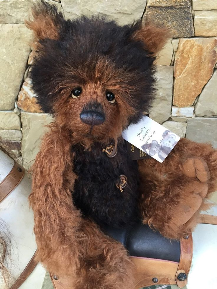 Starsky Charlie Bears Isabelle Lee Collection Mohair Bear