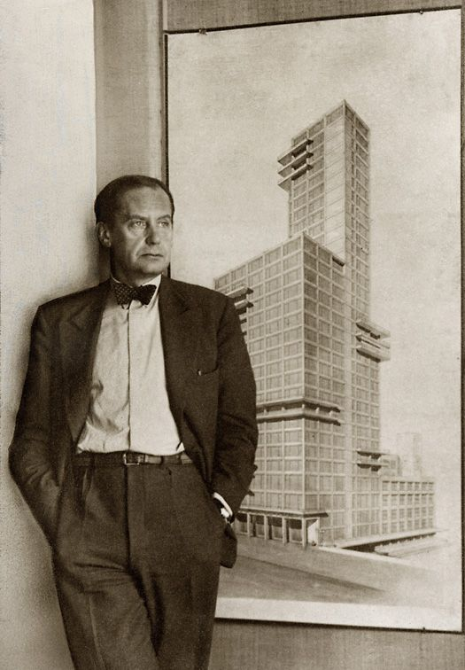 Walter Adolph Georg Gropius (18 May 1883 – 5 July 1969) was a German architect and founder of the Bauhaus School,[1] who, along with Ludwig Mies van der Rohe, Le Corbusier and Frank Lloyd Wright, is widely regarded as one of the pioneering masters of modern architecture.