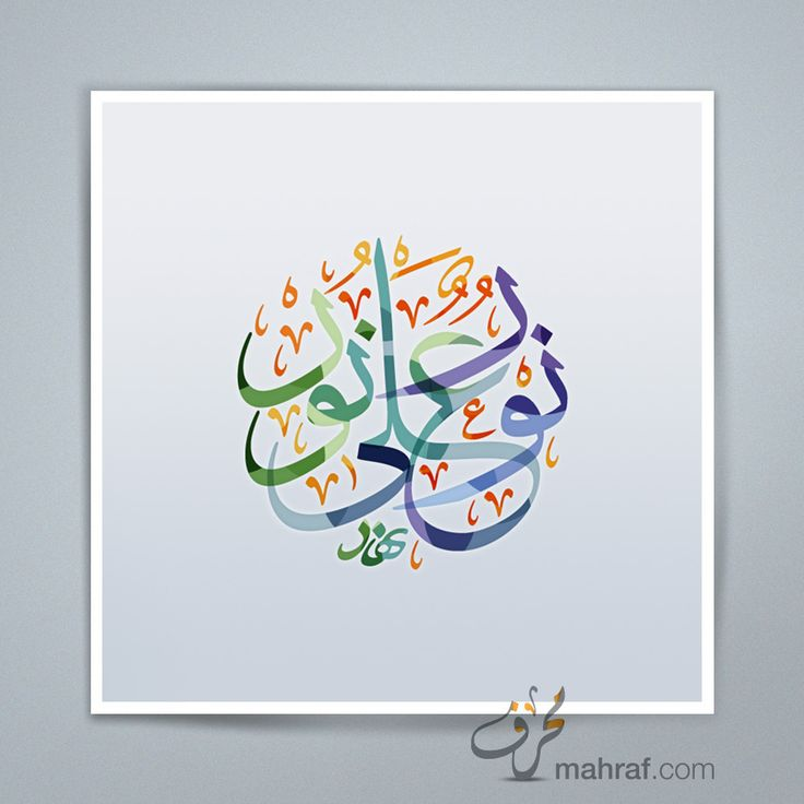 Light upon light Arabic Calligraphy Poster