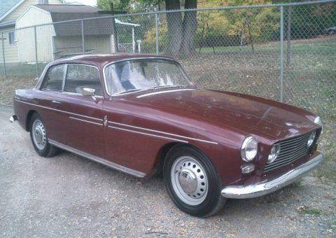 1964 Bristol 408 Series 1 Front