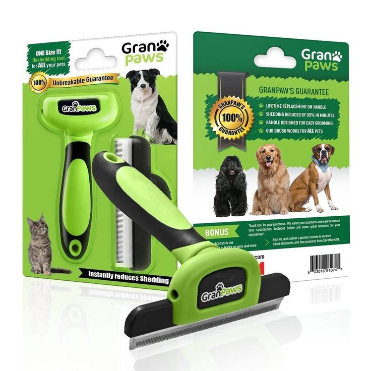 Pet Grooming Deshedding Comb Cats Dogs Rabbits Horses Reduce Shedding Up To 90% #GranPaws  Give this product to your family pet owners to make their life easier.